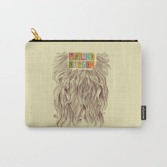 Portland = Beards Carry-All Pouch