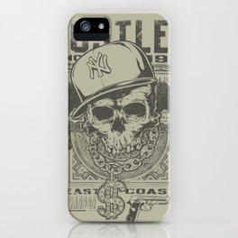 Hustler Skull iPhone Case