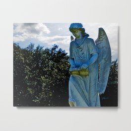 The Turning Angel Metal Print