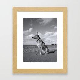 I Am John Galt Framed Art Print