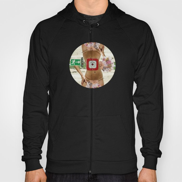 Somewhere between heaven and hell Hoody