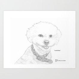 Portrait of Lambchop Art Print