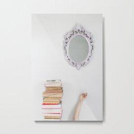 Mirror On The Wall  Metal Print