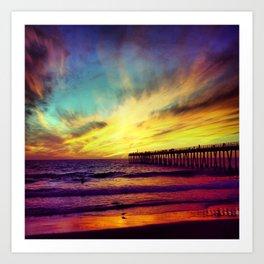 Hermosa Colors Art Print