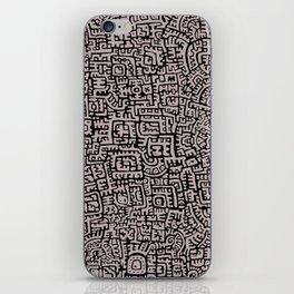 Doodlez Three iPhone Skin