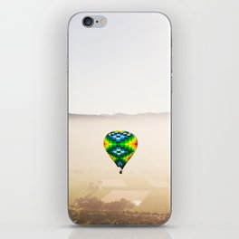 Balloons Over Napa iPhone Skin