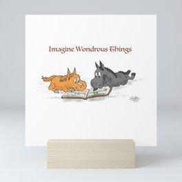 Imagine Wondrous Things Mini Art Print