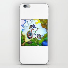 Bicycle - Wine Country Rouleur iPhone Skin