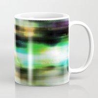 techno Mugs featuring Techno Dream by Idle Amusement