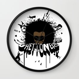 "All Are ""GhettoNerd"" Wall Clock"