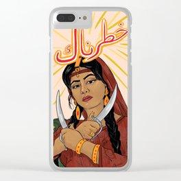 Khatarnaak Clear iPhone Case