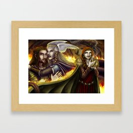 Vǫlsunga saga – Lovepotion I Framed Art Print