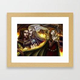 Vǫlsunga saga – Lovepotion I Framed Art Print