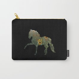 Horse Silhouetted in Sunflowers Carry-All Pouch