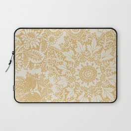 Floral in Yellow Laptop Sleeve
