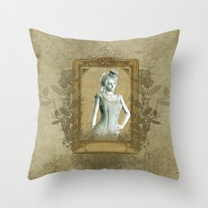Wonderful victorian style Throw Pillow