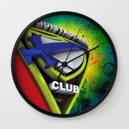 Conquistador 3D streetArt Wall Clock