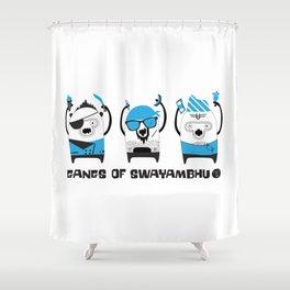 Gangs of Swayambhu Shower Curtain