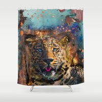 wicked Shower Curtains featuring Wicked by Robin Curtiss