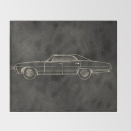 Supernatural: Impala Throw Blanket