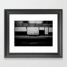 BlackGround Framed Art Print