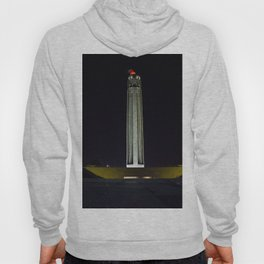 Liberty Memorial at Night Hoody