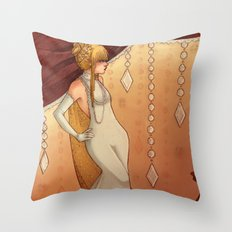 Elegant Diamonds Throw Pillow