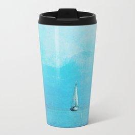 sailing blue Travel Mug