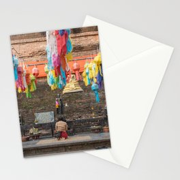 Yi Peng Festival - Chiang Mai, Thailand Stationery Cards