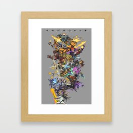 28 Heroes Framed Art Print