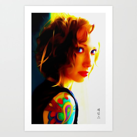 Noticed Art Print