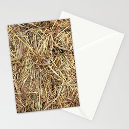 Hay texture Stationery Cards