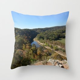 Sparrowhawk Mountain Series, No. 18 Throw Pillow
