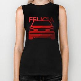 Skoda Felicia - classic red - Biker Tank