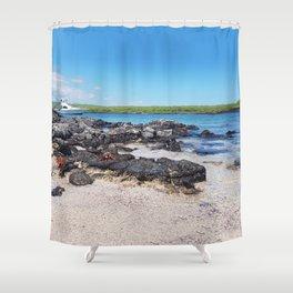 Galapagos Adventure Shower Curtain