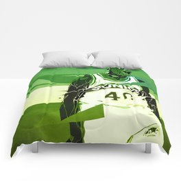 Seattle Reign Man Comforters
