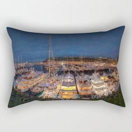 Port Panorama Rectangular Pillow