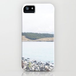 Rocks by the Lake  iPhone Case