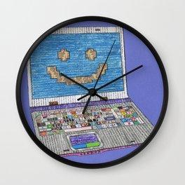 press WIN Wall Clock