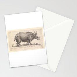 Vintage Rhino Stationery Cards