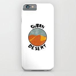 Guban Desert  TShirt Deserts Shirt Sand Dune Gift Idea iPhone Case