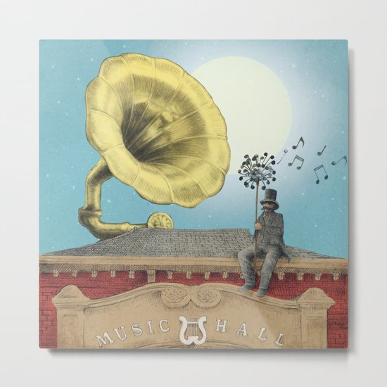 The Music Hall Metal Print