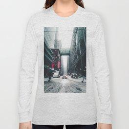 New york under the snow Long Sleeve T-shirt