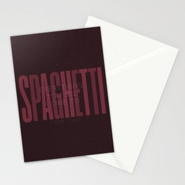 Sophia Loren quote, everything you see I owe to Spaghetti, Pasta quotes, food poster, kitchen prints Stationery Cards
