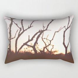 burning Rectangular Pillow