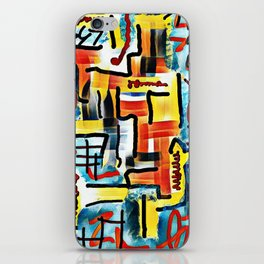 Abstract #15 iPhone Skin