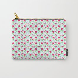 13 Rain Drops and Roses Carry-All Pouch
