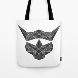 lowpolycybercat Tote Bag