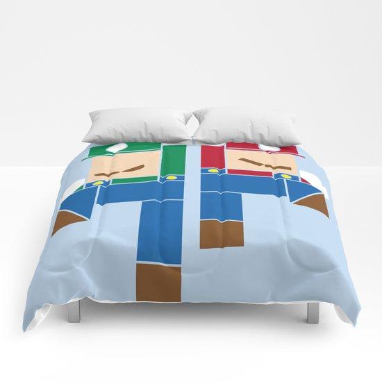 Super Bro High Five Comforters