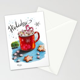 Holiday Coffee Stationery Cards